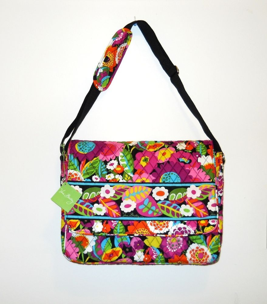 2d1b6c7cda8d Vera Bradley Sale-Women s Large Crossbody Bag. Great for the office or can  be used as a carry on when flying.