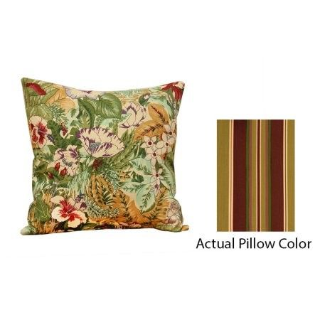 40' Decorative Square Throw Pillow Tuscany Stripes Multi Custom Better Homes And Gardens Mumsfield Floral Decor Pillow