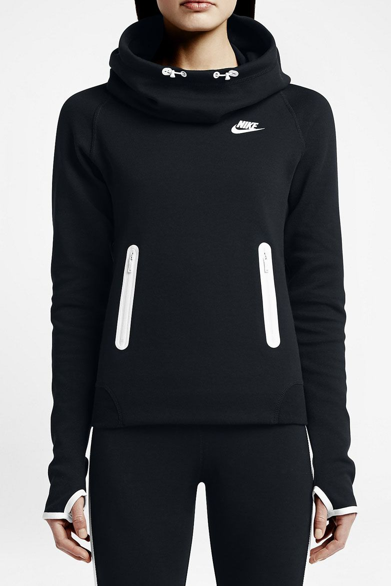 NIKE Tech Fleece Women's Hoodie | Gym Threads | Pinterest | Nike ...
