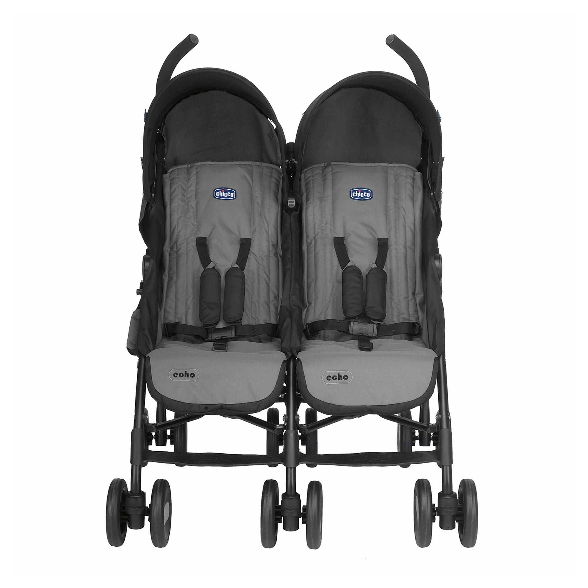 Chicco Echo Twin Stroller in 2020 Chicco stroller, Twin