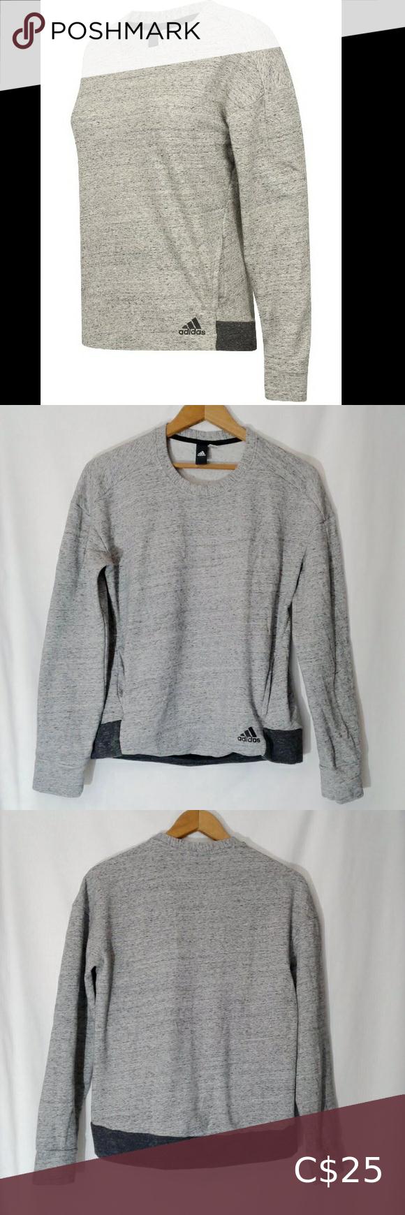 Adidas Sport Luxe Fleece Crew Sweatshirt Adidas Us Long Sleeve Tshirt Men Sweatshirts Crew Sweatshirts [ 2000 x 2000 Pixel ]