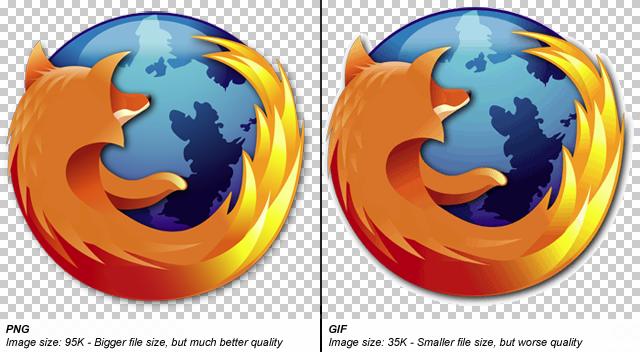format PNG versus format GIF | http://exitstudio.be | http://exitstudio.be/blog/jpeg-png-et-gif-formats-et-optimisation-des-images-pour-le-web-et-facebook/