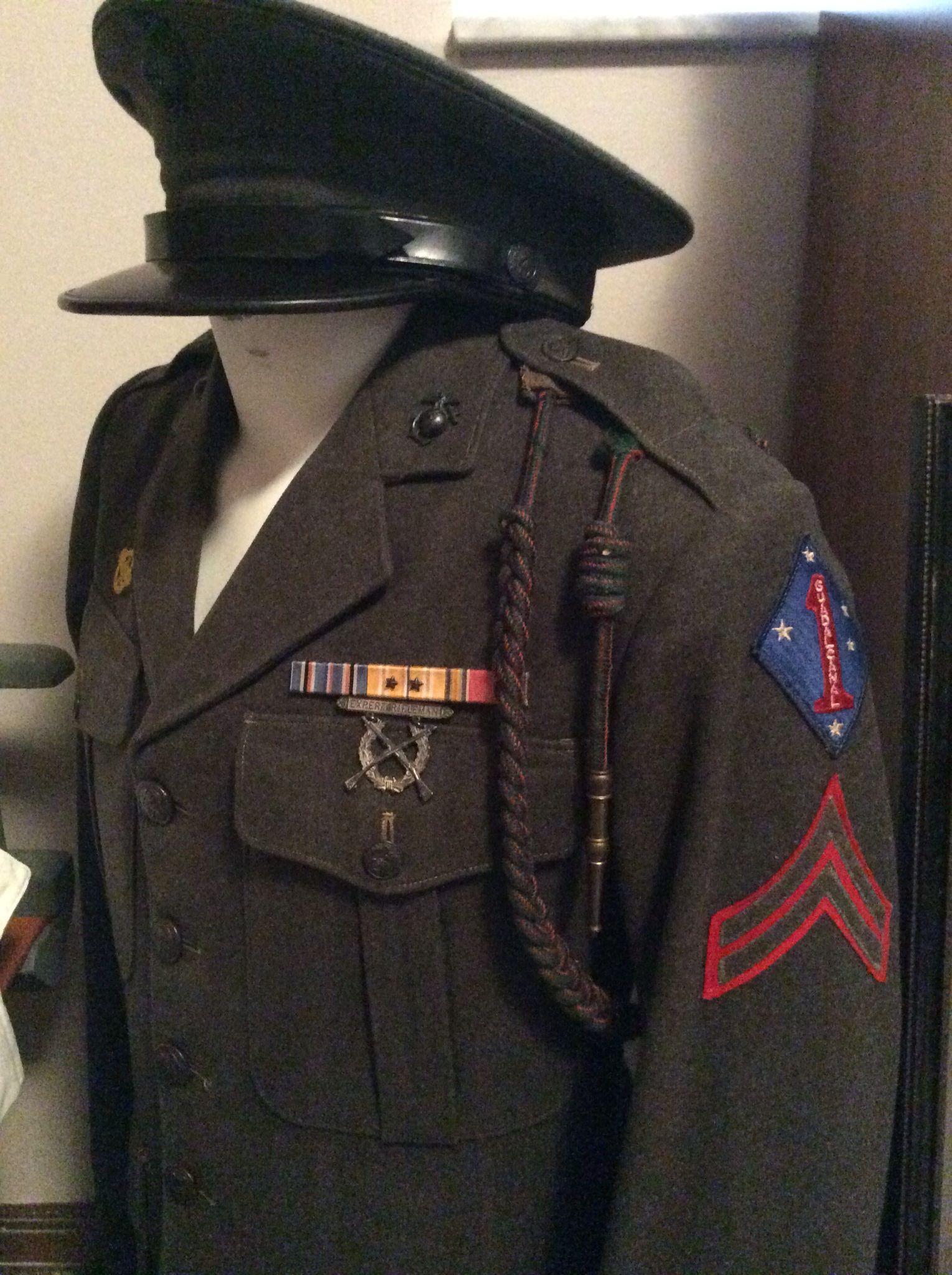 Usmc Service A Uniform 72
