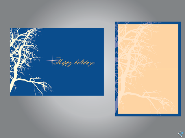 Ict Company Holiday Greeting Card Ict Company Holiday Greeting Card Testimonia Business Card Template Design Holiday Greeting Cards Business Card Template Psd