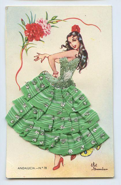 Vintage ethnic postcards gallery — 14