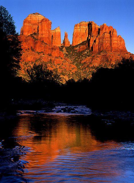 Cathedral Rock, Sedona, Arizona by Robbie's Photo Art, via Flickr