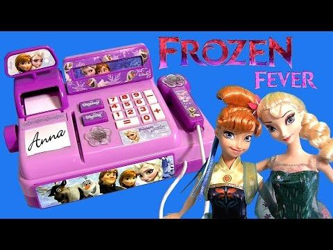 Mini Frozen Elsa Cash Anna Fever Party Register Birthday 0PX8ZNwOkn