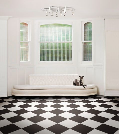 Jet Black Vinyl Flooring & Lino | Colours Collection by Harvey Maria ...