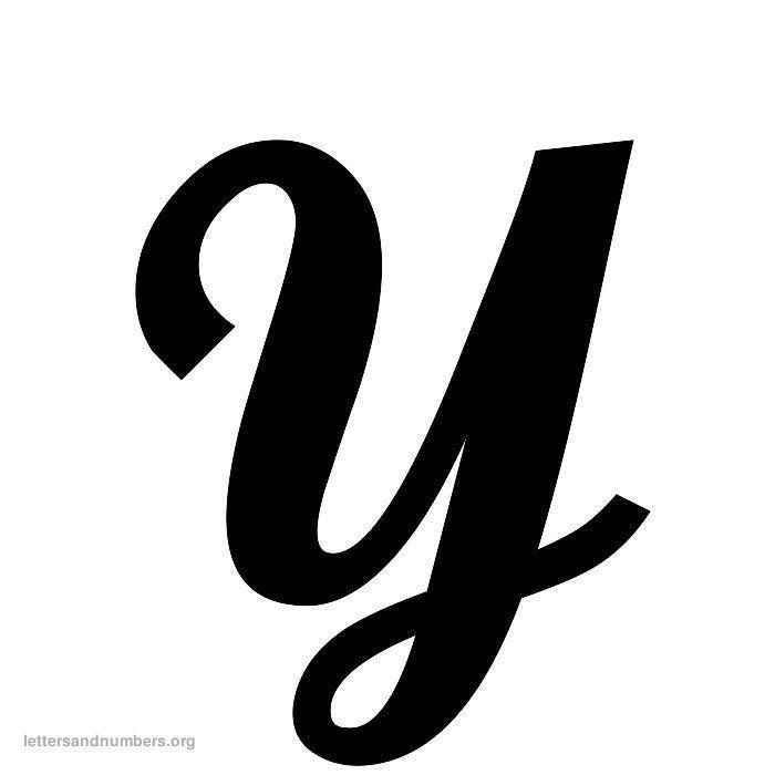 Cursive Letter Y | Cursive letters, Lettering, Cursive