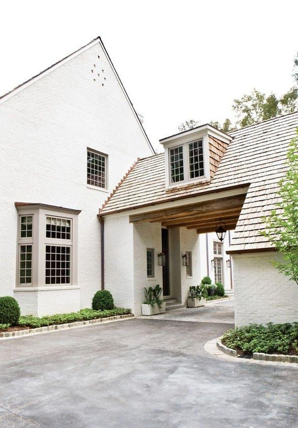 75 Beautiful Rustic Mediterranean Farmhouse Exterior Design ...