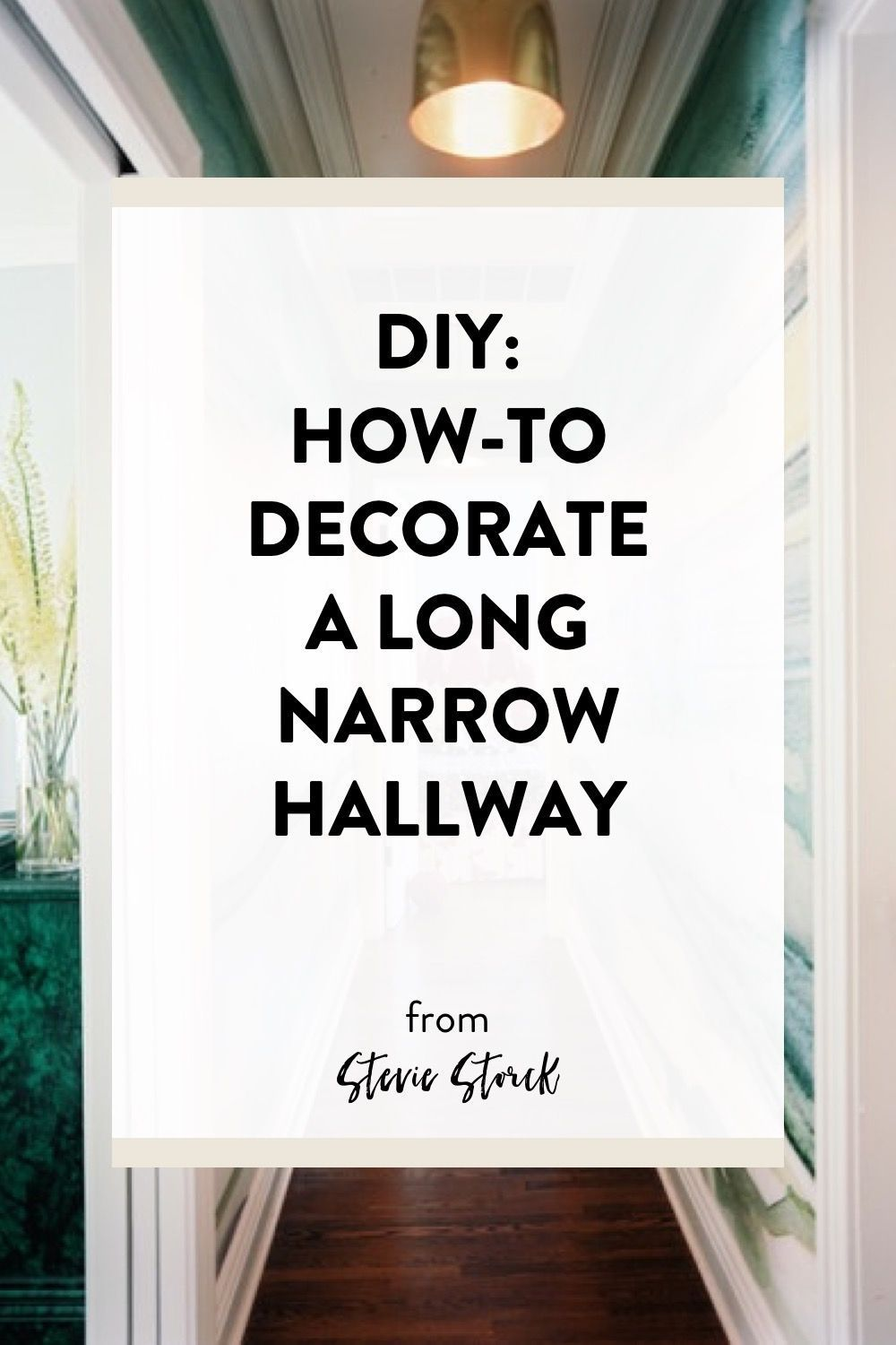 Hallway wallpaper or paint  Stumped with how to decorate a long narrow hallway Here are  great