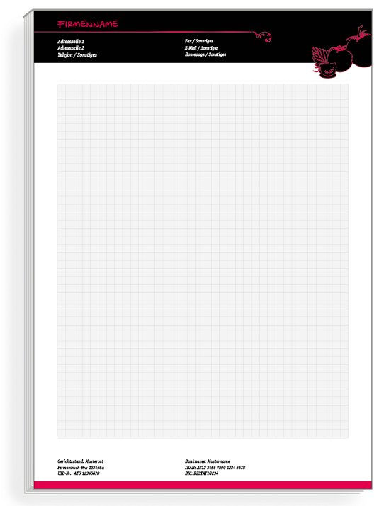 Individuell Bedruckte Notizblocke Jetzt Online Bestellen Notizblock Onlinedruckerei Vorlagen Gastronomie R Briefpapier Vorlage Notizblock Online Druckerei