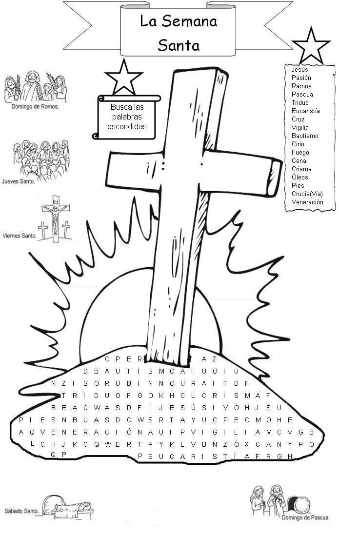 Semana Santa 1 Semana Santa Ninos Ensenanza Religiosa Lecciones Biblicas Para Ninos