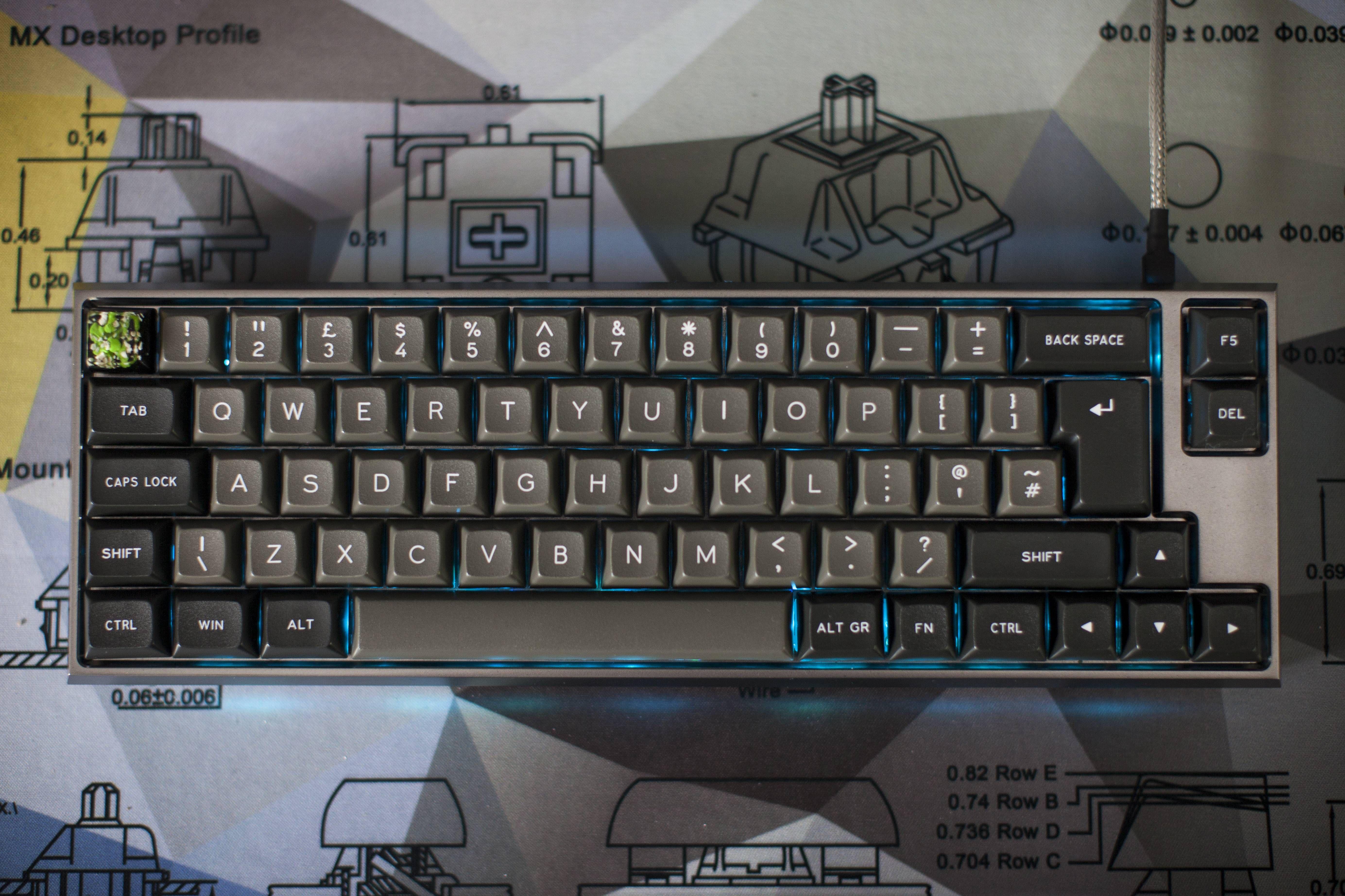 My new Clueboard! Keyboard, Trending memes, Computer