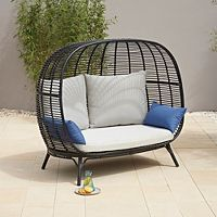 Cocoon 2 Seater Sofa Garden Furniture George At Asda 2 Seater Sofa Seater Sofa Conservatory Furniture