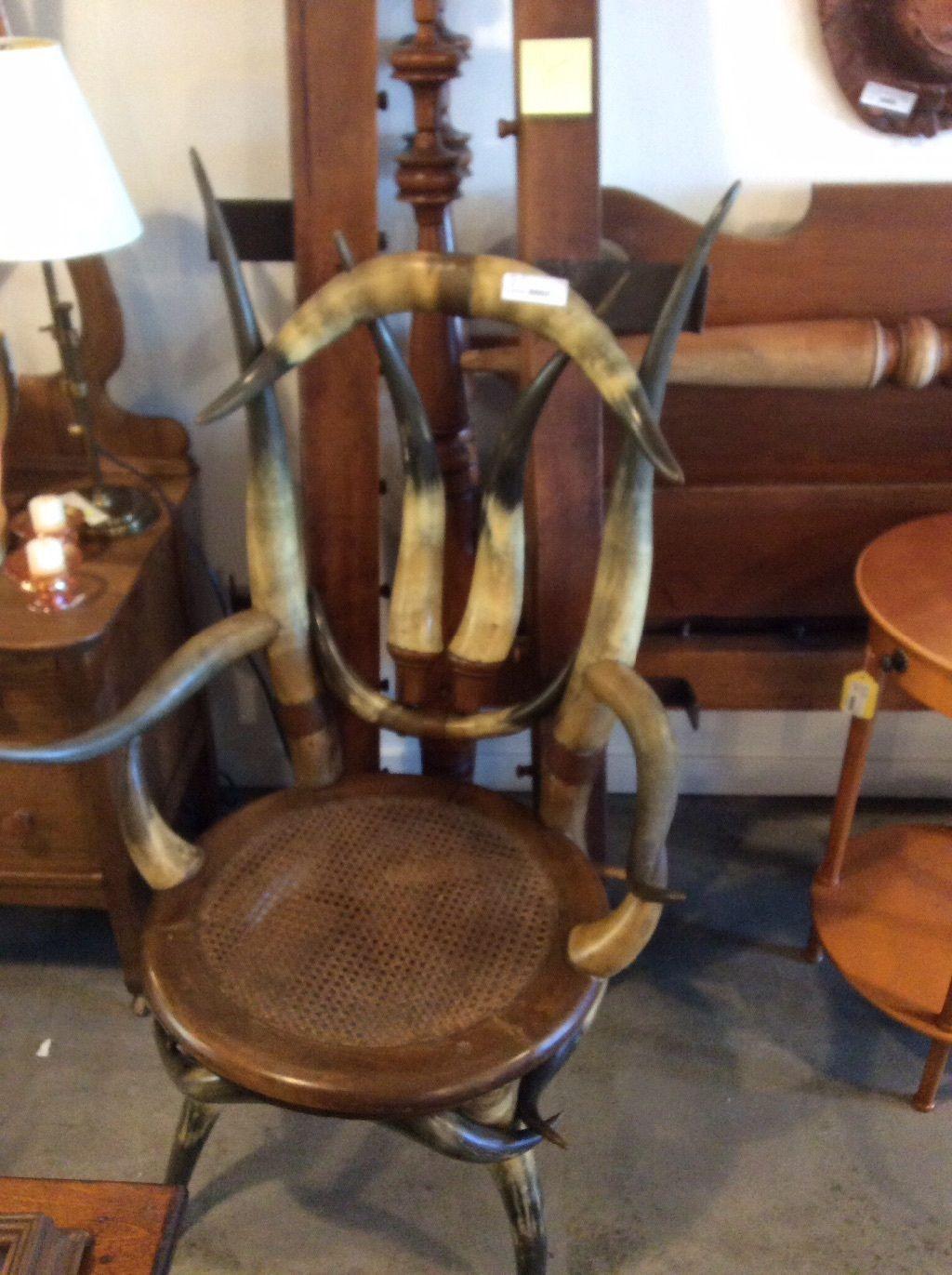 Horned Chair | eBay - Horned Chair EBay Thomas C. Molesworth & Western Furniture