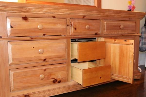 Broyhill Fontana Triple Dresser Broyhill Bedroom Furniture For