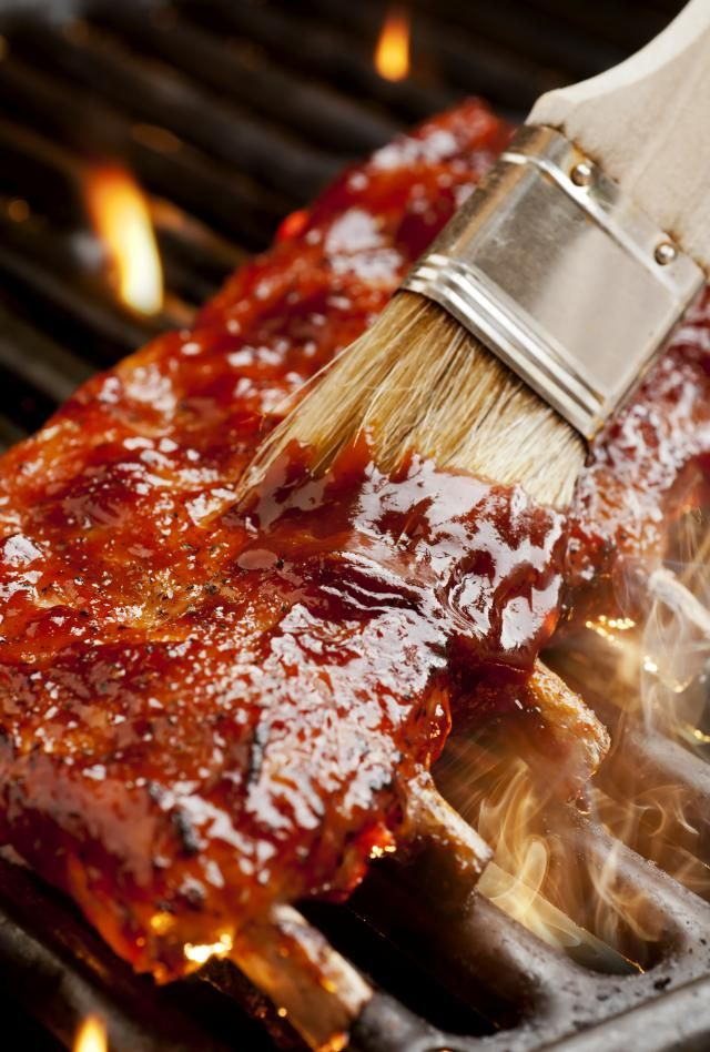 This is a thin and flavorful barbecue sauce that works well when applied to ribs towards the end of cooking.
