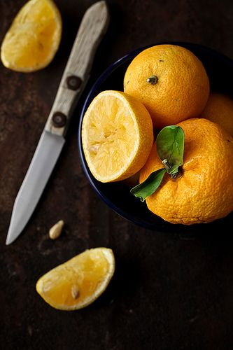 Fresh Yuzu by tartelette, via Flickr