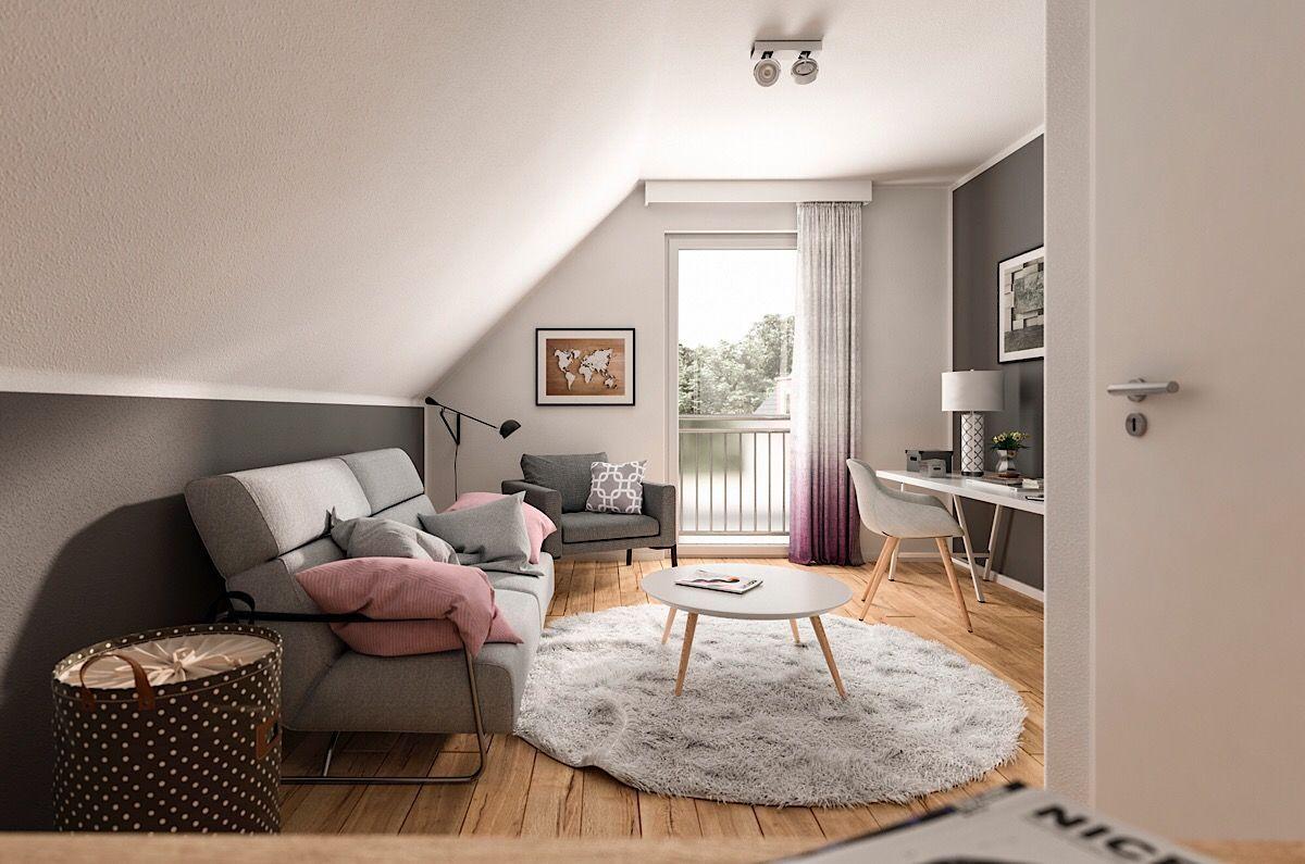 Gästezimmer einrichten mit Dachschräge Ideen Interior