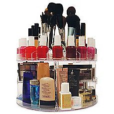 Gifts For Her Bedbathandbeyond Com Cosmetic Organizer Makeup Organization Makeup Storage