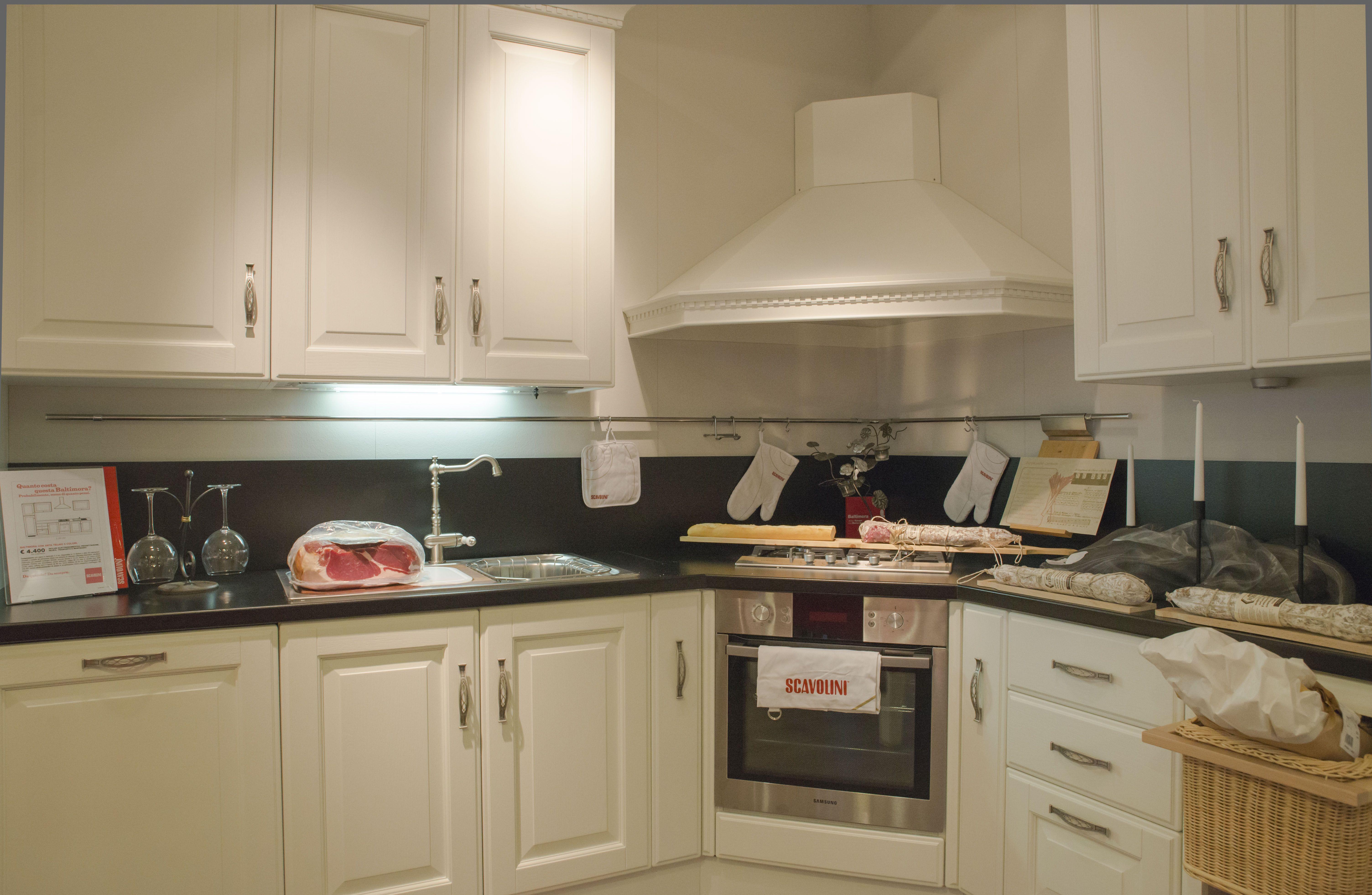 Cucine classiche Scavolini - composizione ad angolo | cucine