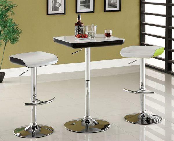 Barhocker Und Tisch modern lacquer finish barstools bar stools clearance kitchen