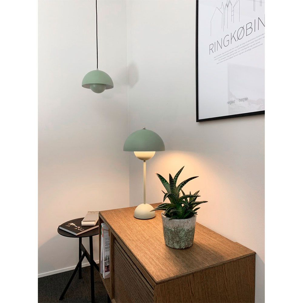 Flowerpot Vp1 Pendel Soft Green Tradition I 2020 Hus Innredning Lamper Sofabord