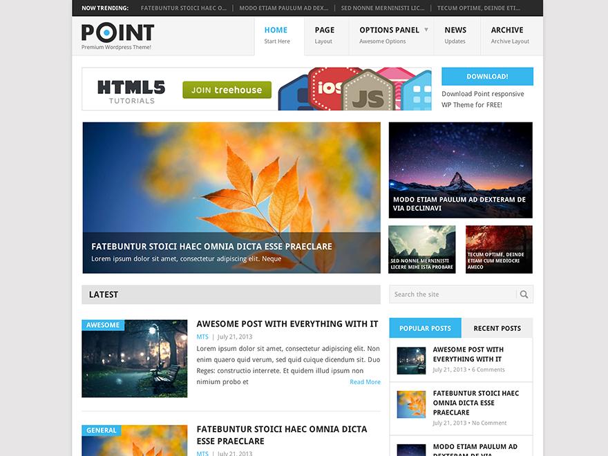 BLOG - WordPress › Point « Free WordPress Themes   best