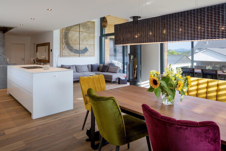 Gallery Of Swiss Simplicity Wohlgemuth Pafumi Architekten 9 Dining Room Design Modern House Plan Decor Interior Design