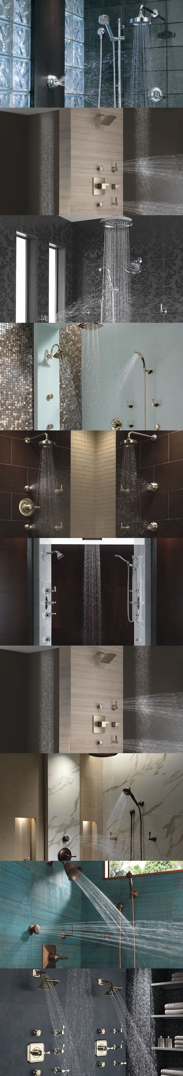 Brizo Shower Faucets shower system brings fashion-forward style and ...