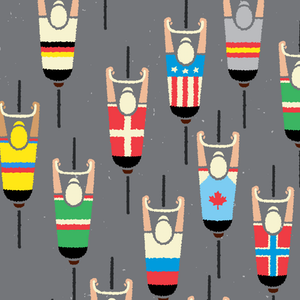 Cycling Art Prints and Posters by gumo