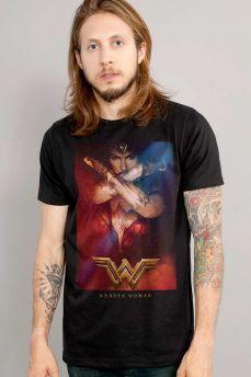 Camiseta Masculina Wonder Woman Power | Mulher Maravilha