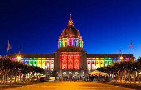 Rainbow Pride: Landmarks Turn Multicolor in Recognition of SCOTUS' Decision