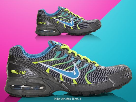 49887643cc6 Women s Nike Air Max Torch 4 Running Shoes. Burn up the track like never  before with these running shoes!