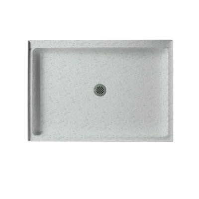 Swan Solid Surface 34 X 48 Single Threshold Shower Base Shower