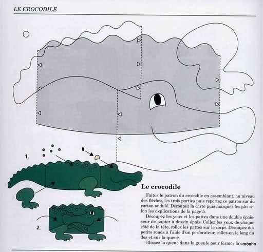 Tarjeta de cocodrilo | cocodrilo | Pinterest | Cocodrilos, Tarjetas ...