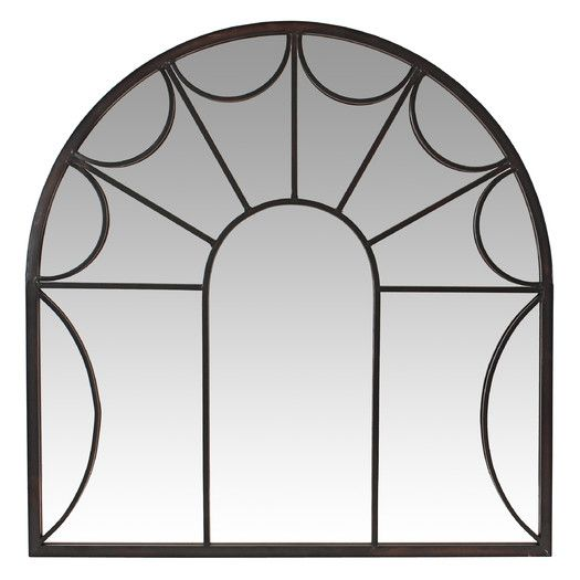 Aspire Carlita Arched Window Wall Mirror Mirror Wall Transitional Wall Mirrors Arched Windows