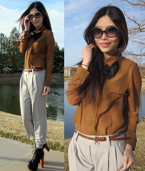This is me, take it or leave it!  (by Cassandra Y. Liu) http://lookbook.nu/look/3046769-This-is-me-take-it-or-leave-it