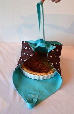 J'ai apporté la tarte... - La chouette bricole #couturefacile