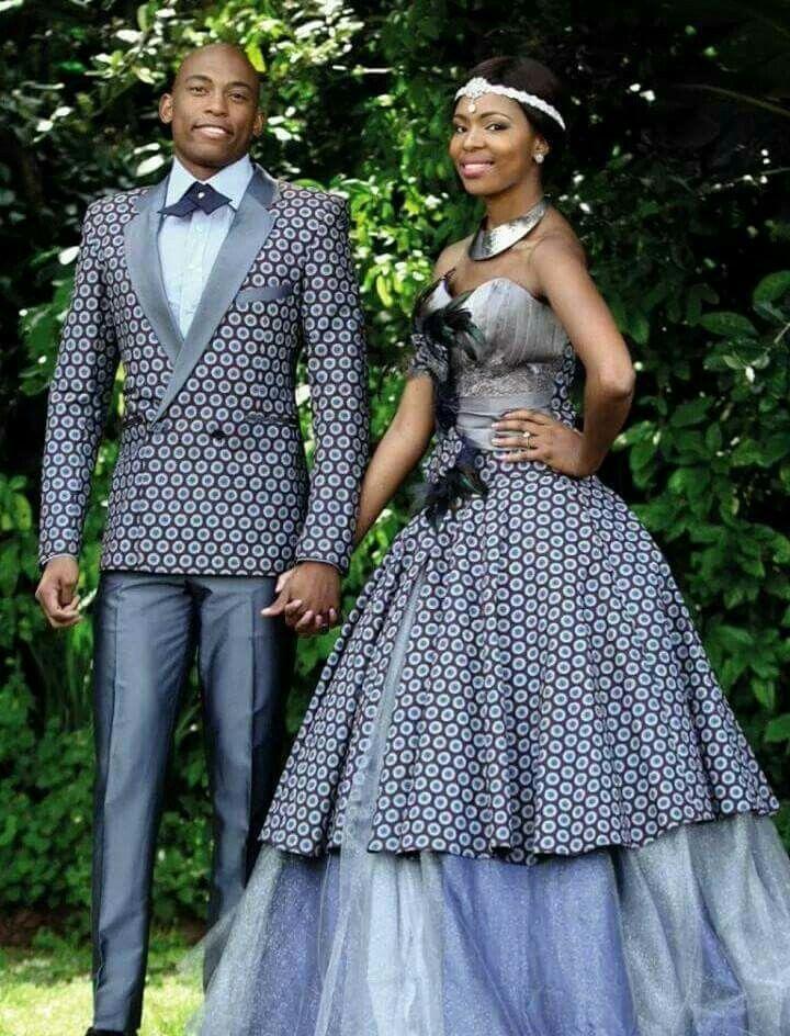 Magnifique Wedding Dress Latest African Fashion Prints Styles