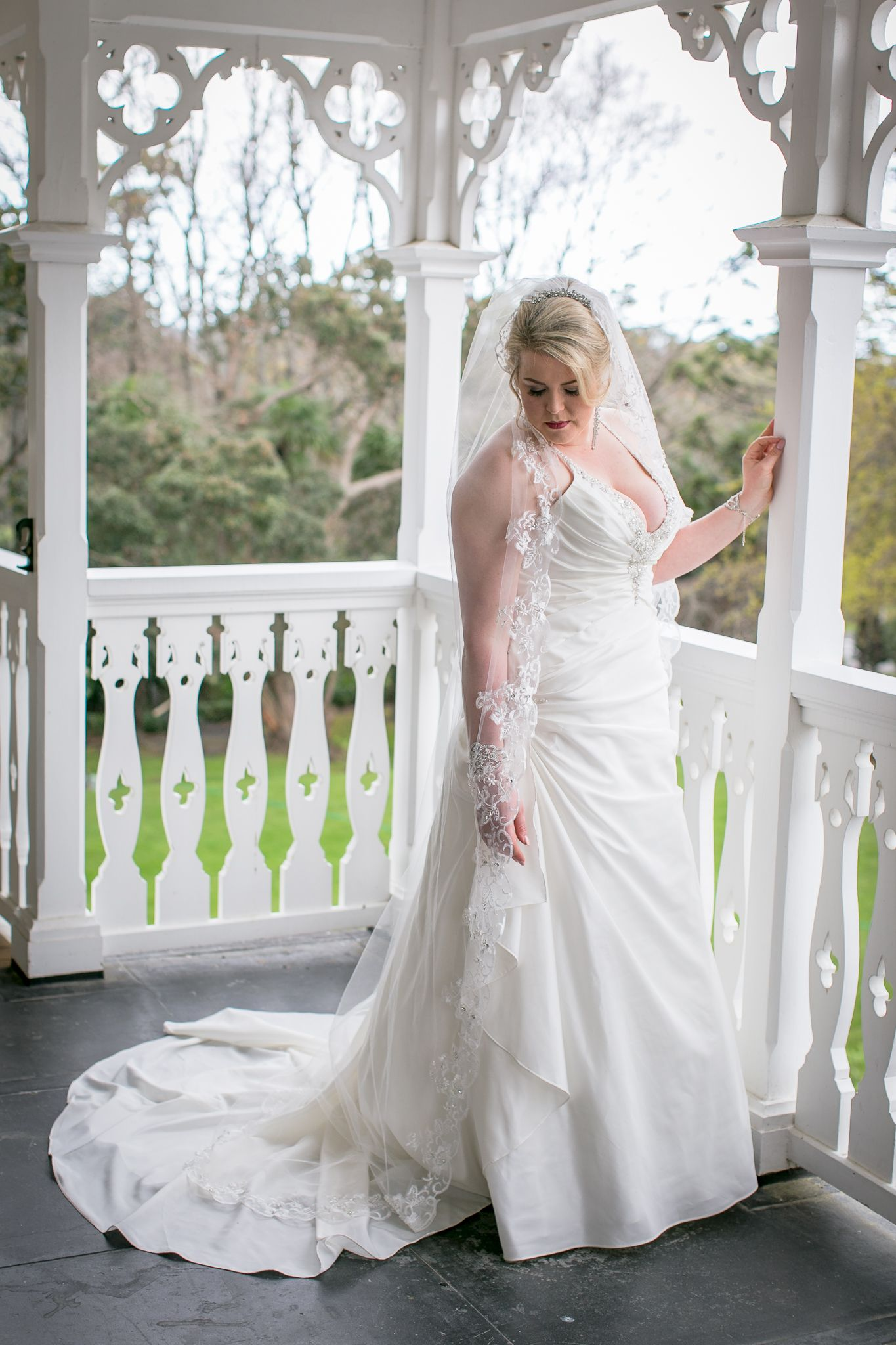 My beautiful alfred angelo wedding dress this dress made me look