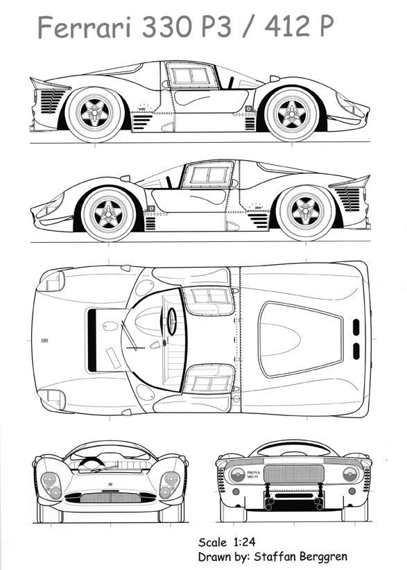 Ferrari p3412p smcars car blueprints forum car drawing net car blueprints forum malvernweather Images
