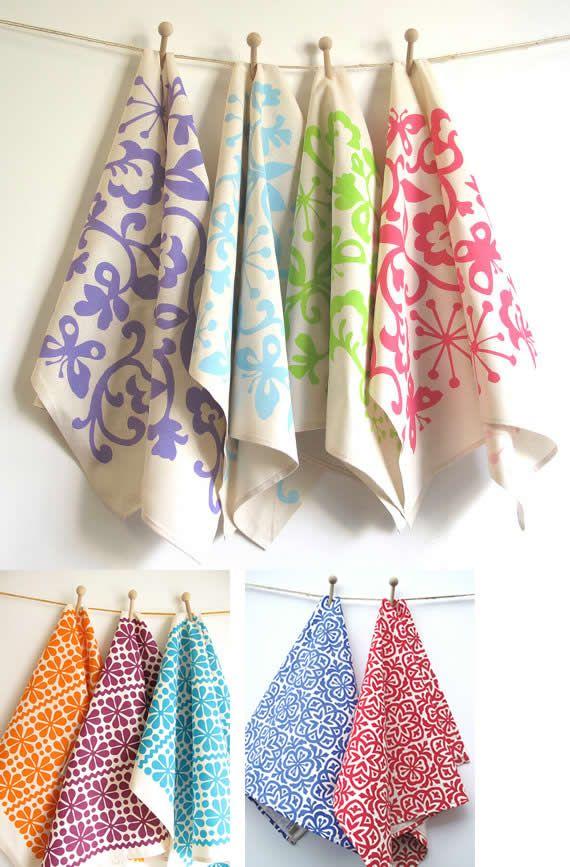 Referred From Blogspot Tea Towels Towels Design Prints