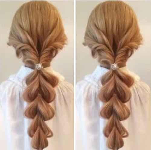 tết tóc kiểu công chúa