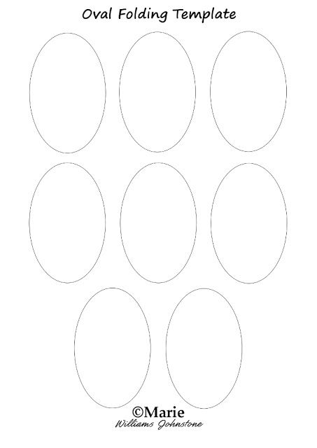 Easy Oval Tea Bag Folding Paper Craft Paper Template Free Printable Paper Folding Crafts Paper Crafts