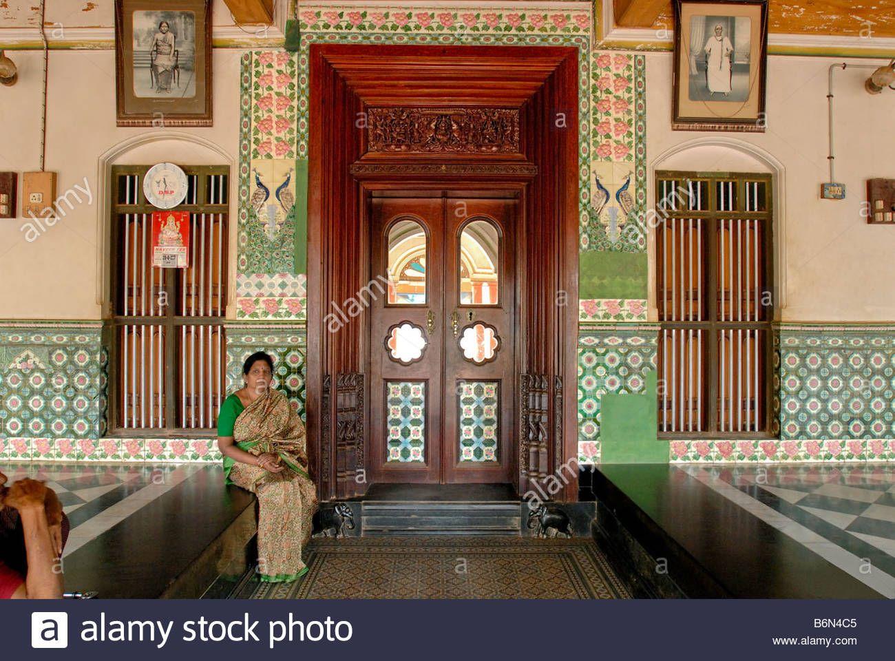 nattukottai-chettiar-house-in-chettinad-tamil-nadu-B6N4C5.jpg ...