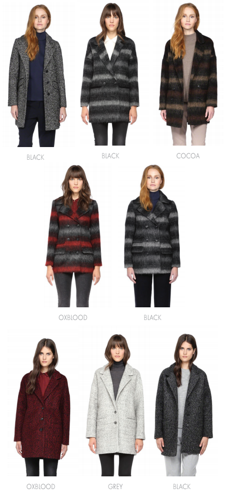 SOIA & KYO 2015 fall/winter coats