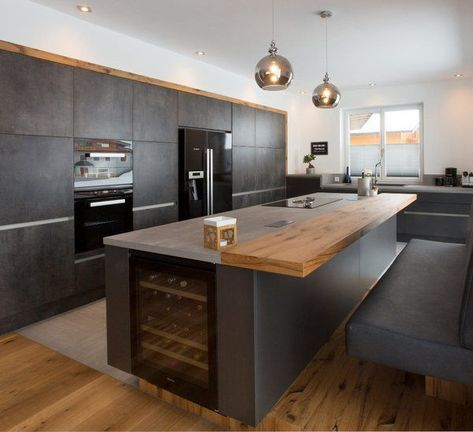 Moderne Küchen bei Gfrerer Küchen in Goldegg, Salzburg #modernrusticinteriors