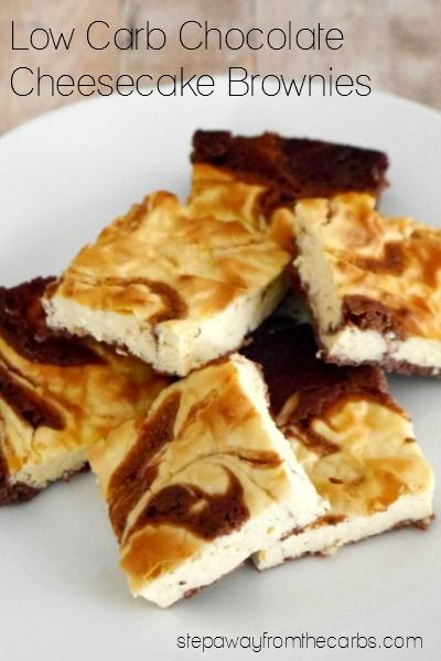 These Low Carb Chocolate Cheesecake Brownies Taste As Good